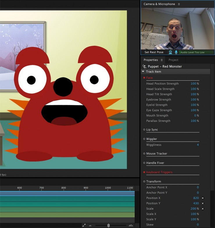 An In-Depth Look at Character Animator, Adobe's New Motion Capture