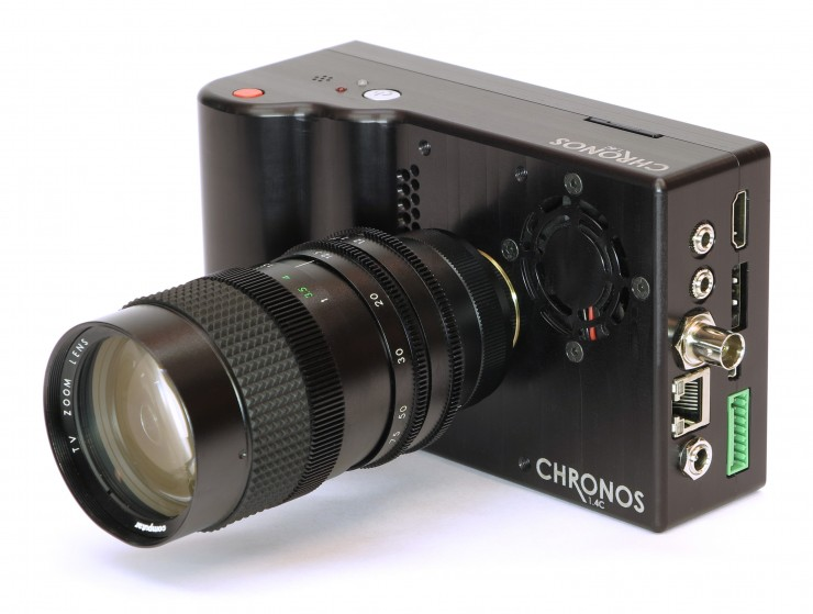 chronosthe 2750 high speed 21500fps camerais now on kickstarter