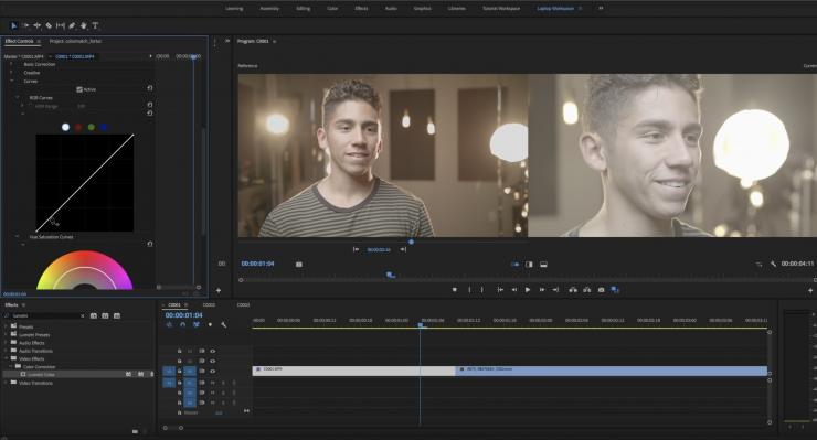 how to get a contrast slider in premiere pro