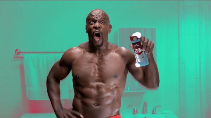 Terry Crews - Old Spice Commercial