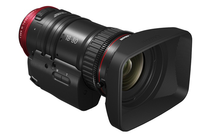 Canon's 18-80mm at NAB 2016