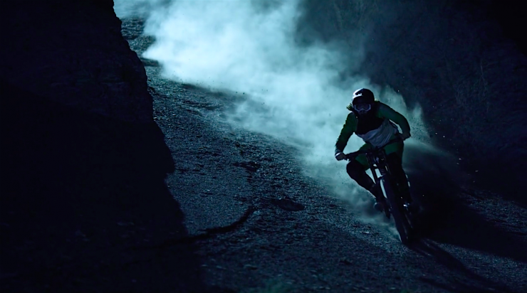 Lighting Up the Night Behind the Scenes of the Mesmerizing Biking Film u0027Darklightu0027 & Lighting Up the Night: Behind the Scenes of the Mesmerizing Biking ...