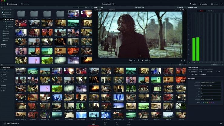 DaVinci Resolve 12.1 Adds New Editing & Color Improvements, Plus 10-Bit Support in OSX