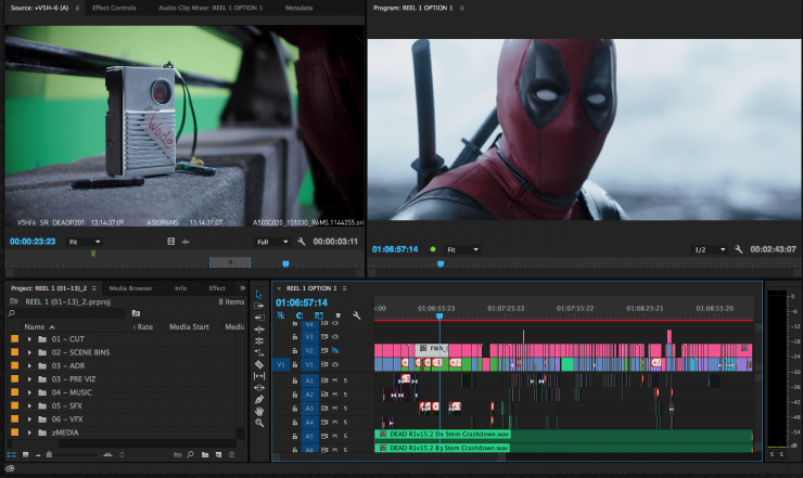 Want to edit a blockbuster stay organized with this free for Free premiere pro templates