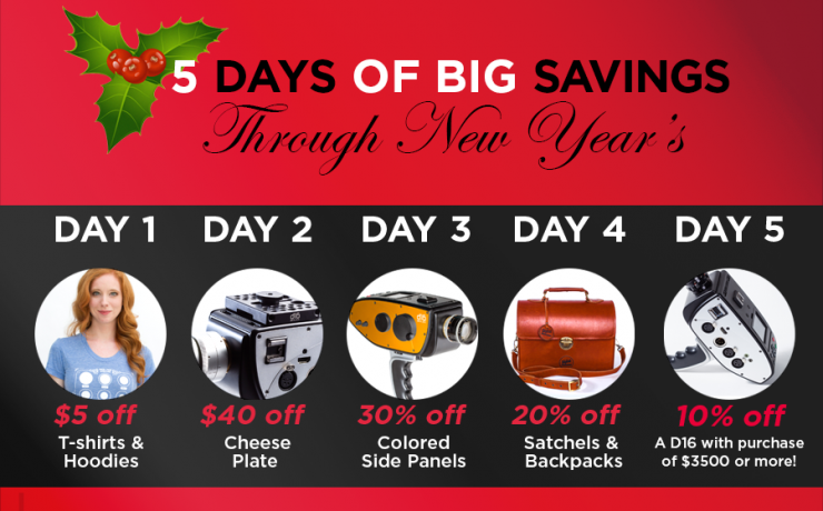 Digital Bolex 5 Day Sale