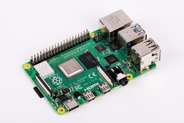 Raspberry Pi, The Credit-Card Sized Computer, Quadruples Its