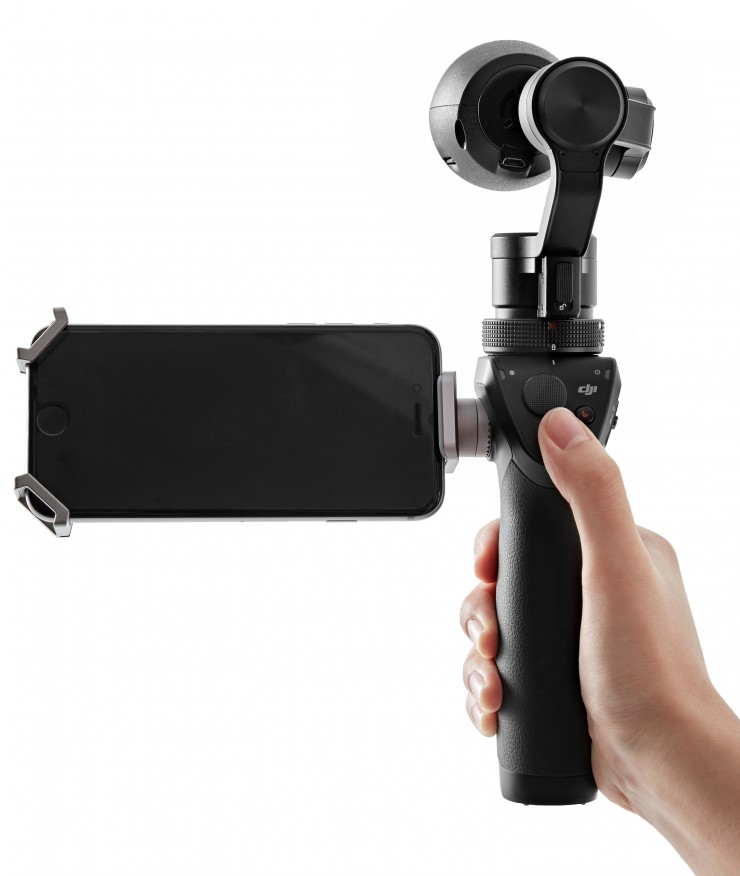DJI Osmo Is a Powerful 4K Camera with an Integrated 3-Axis