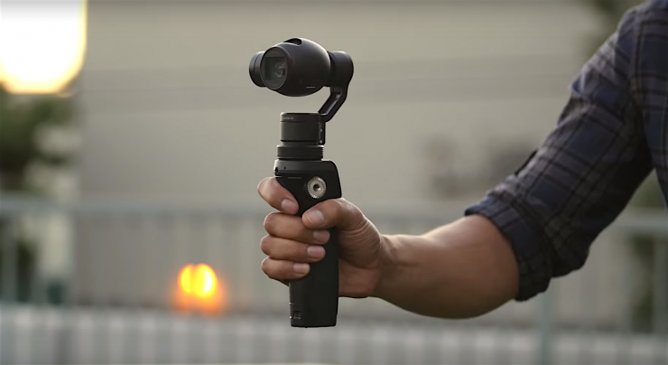 DJI Osmo Is A Powerful 4K Camera With An Integrated 3 Axis