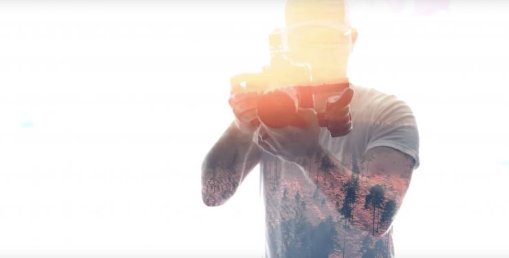 how to use double exposure