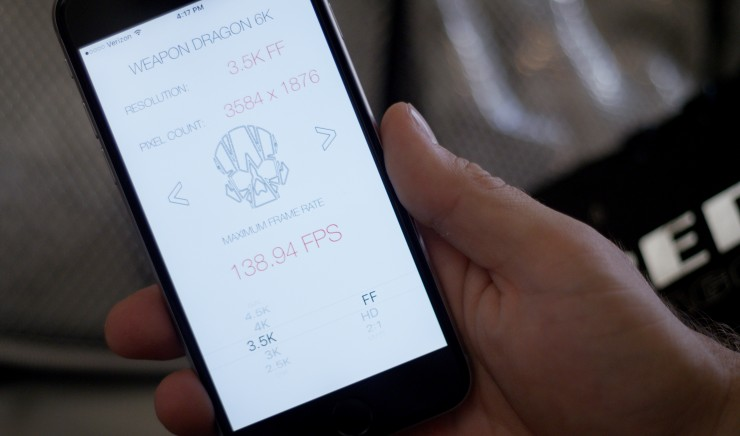 Learn RED Camera Menus & Max Frame Rates with These Handy iOS Apps