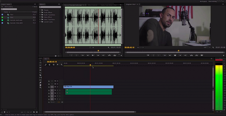 Dual System Audio Syncing Premiere Pro CC