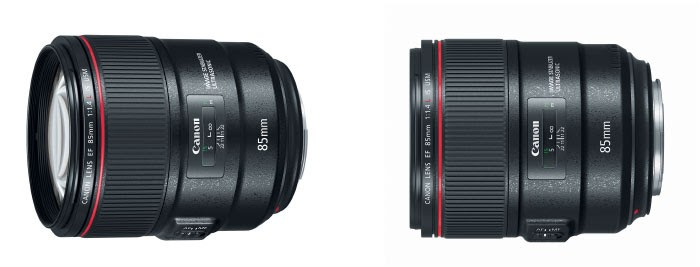 Canon 85mm f/1.4 IS Lens