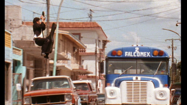 El Mariachi bus scene no film school Robert Rodriguez