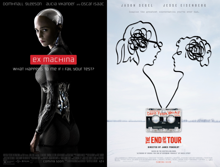 Ex Machina, The End of the Tour & More Screenplays For Your Consideration