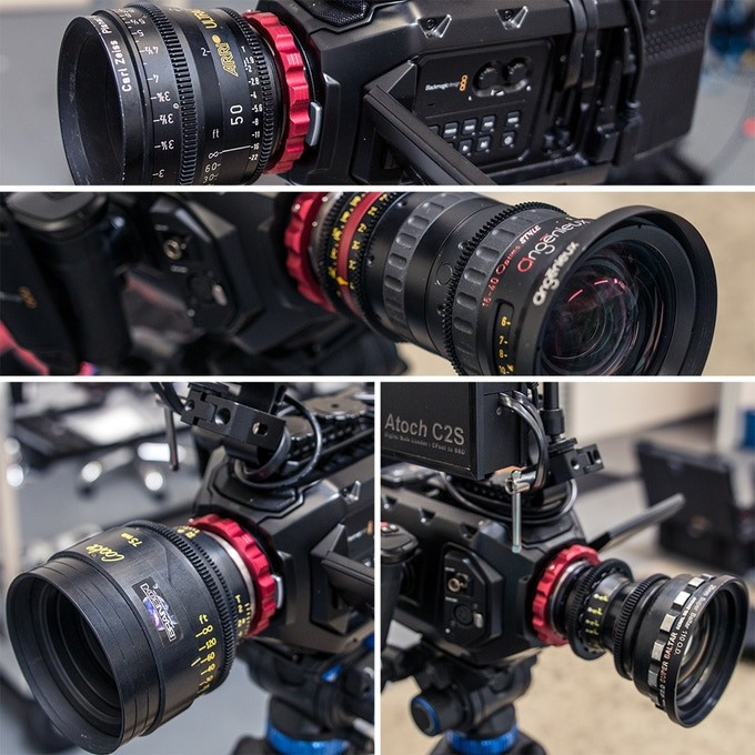The Bezamod works with a wide range of PL mount lenses