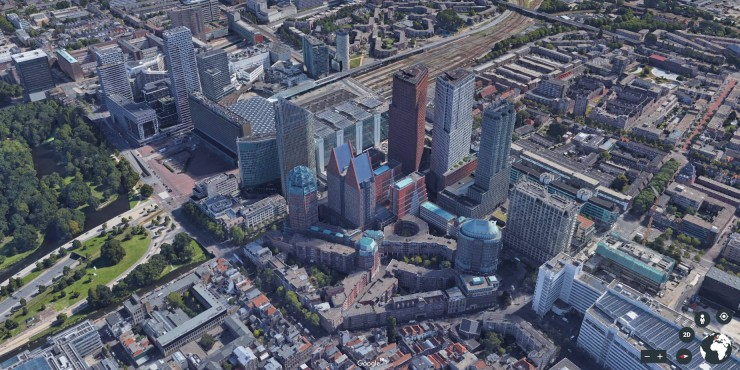 Satellite images can be converted into 3D