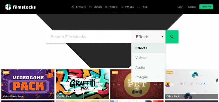 Filmstocks Free Sound Effects Home Page