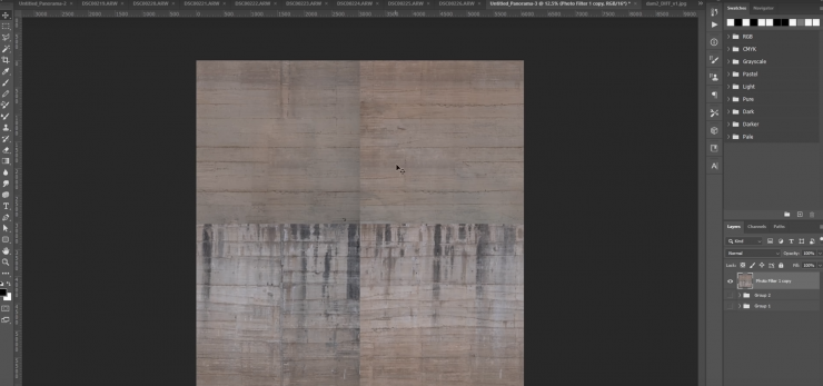 A usable texture must be infinitely tile-able