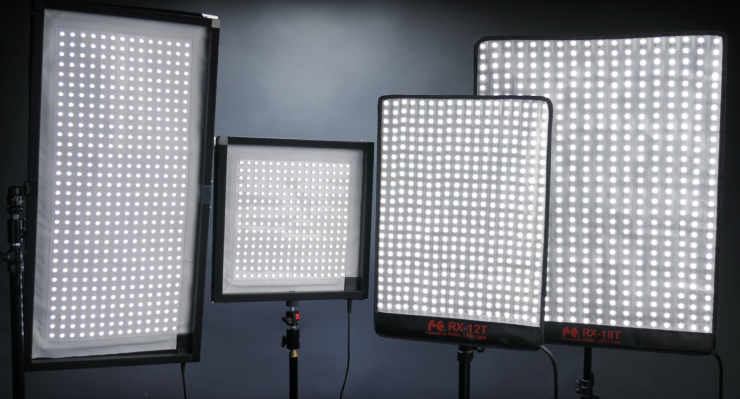 here are some inexpensive for flexible led light panels