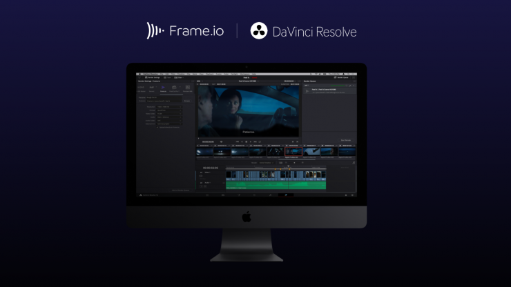 Frame.io in Davinci Resolve 16