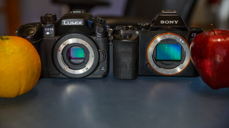 The Sony a7S & the Panasonic GH4 Duke It Out in This In