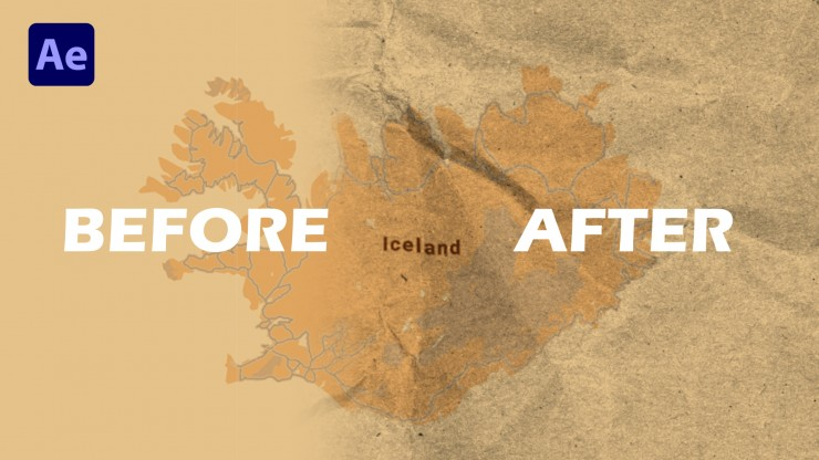 Displacement Maps in Adobe After Effects