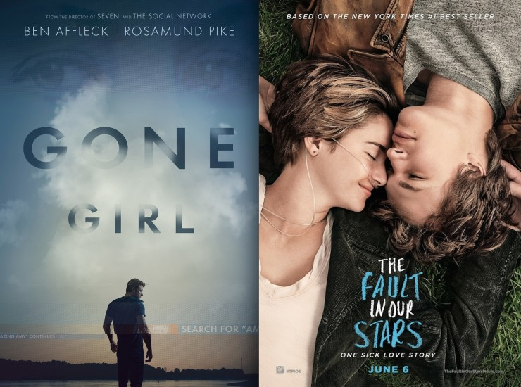 Gone Girl, The Fault in Our Stars Screenplays Now Available For Your Consideration