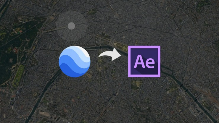 Google Earth Studio with Adobe After Effects