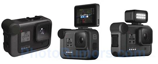 A Trio of New Accessories May be Available for the GoPro Hero8