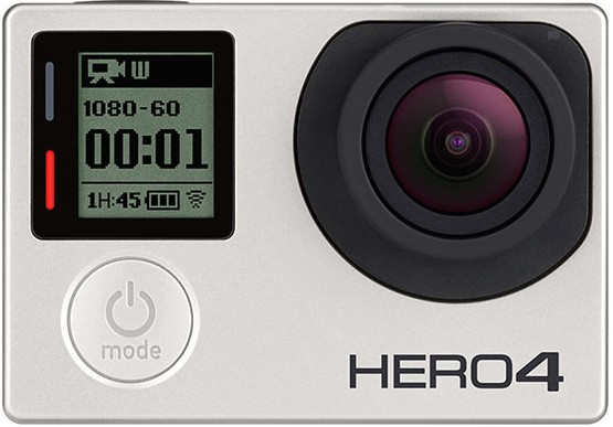 GoPro HERO4 Silver Edition Front