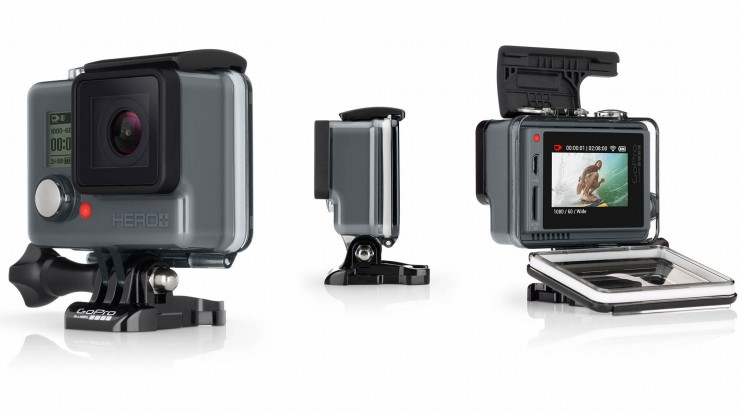 GoPro HERO+ LCD Front-Side-Back