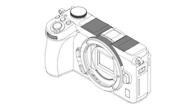 Leaked shot of a viewfinderless Nikon APS-C Z Mount camera