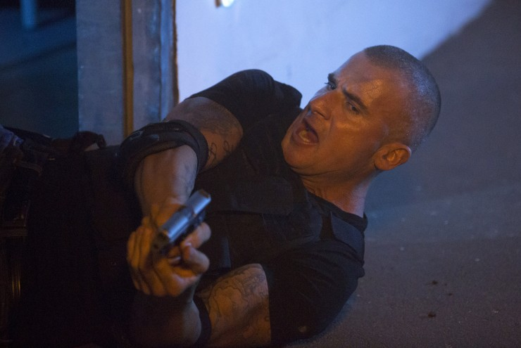 Dominic Purcell in Gridlocked