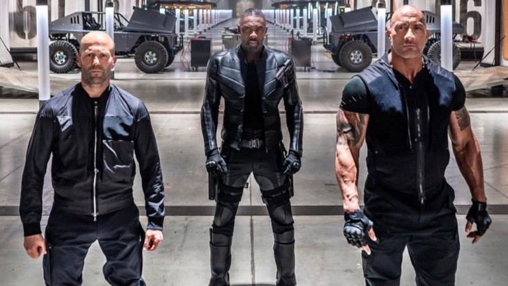 'Hobbs and Shaw' stars never want to lose a fight