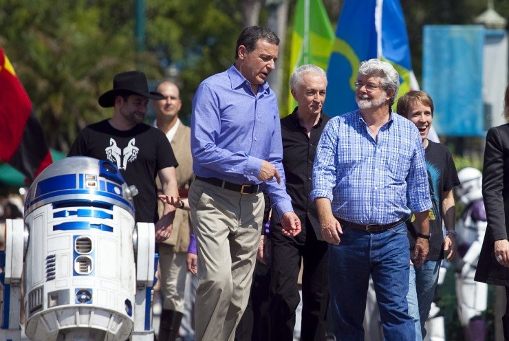 Iger and Lucas