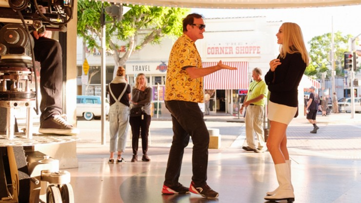 Once Upon a Time in Hollywood Tarantino Directing