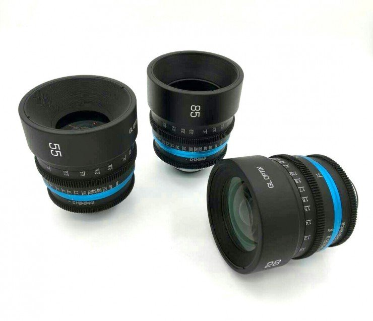 GL Optics Zeiss Otus Set 28mm, 55mm, 85mm f/1.4