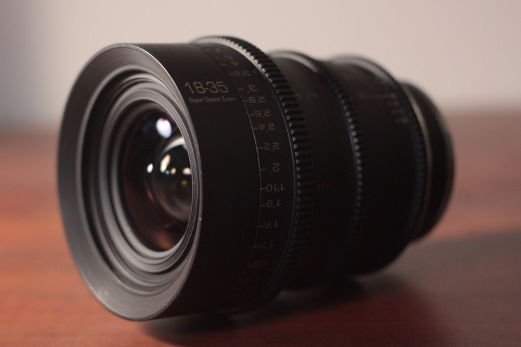 GL Optics 18-35mm Sigma Rehoused Cinema Lens