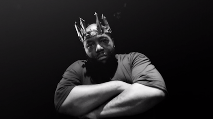 Killer Mike of Run the Jewels in Crown