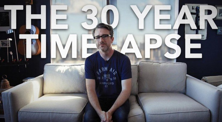 Joesph DiGiovanna is doing a 30 year time lapse project