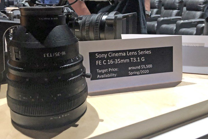 Sony's New FEC 16-35 T3.1 Cinema Lens