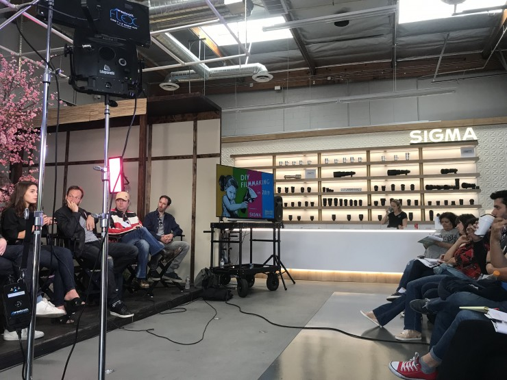 Soundcheck: Audio for Independent Filmmaking panel