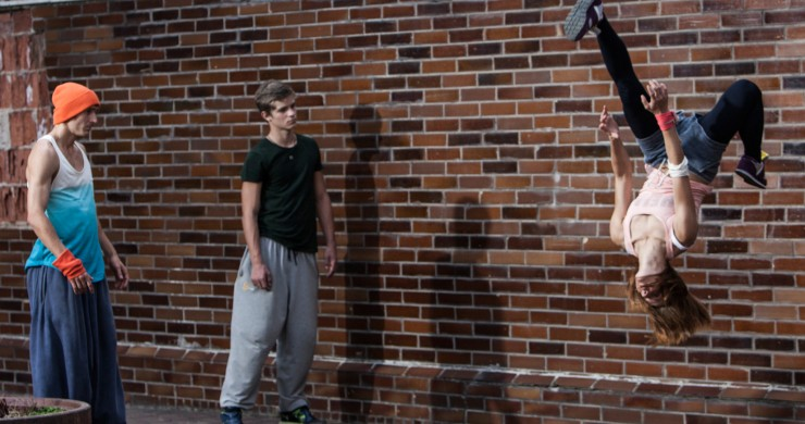 """Berlinale 2016 selection """"In Your Dreams!"""" cast real parkour athletes."""