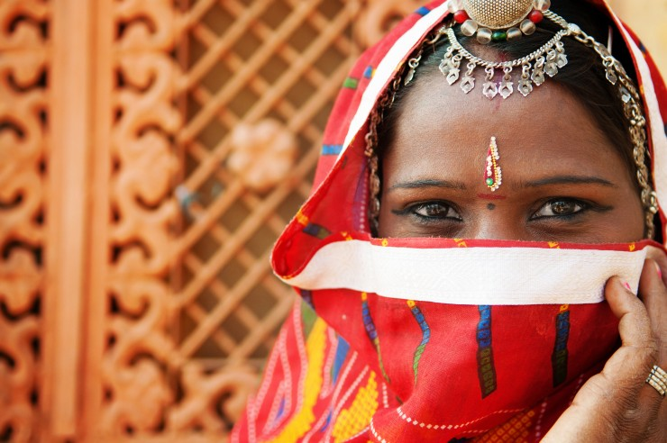 Indian woman - stock footage