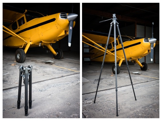 """The International tripod from Nice Industries collapses down to 20"""""""