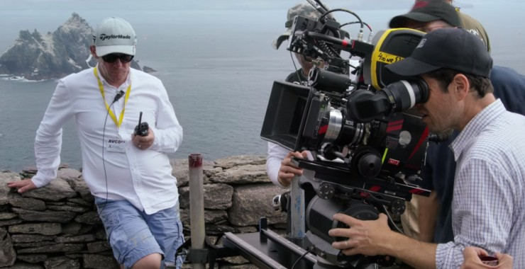 JJ Abrams Looking into Camera Skellig Island