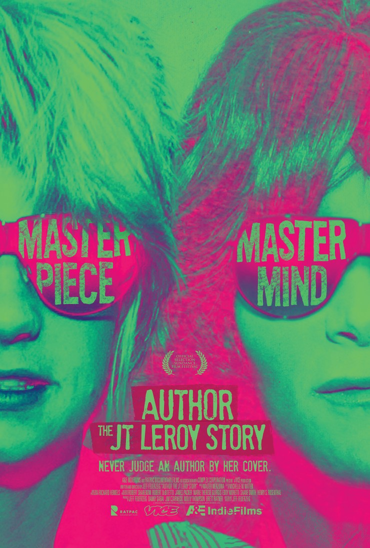 Author: The JT LeRoy Story on the No Film School Podcast (Poster)
