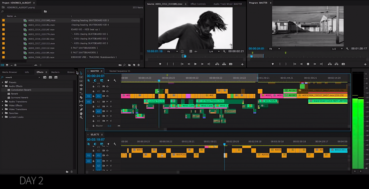 Kendrick Lamar 'Alright' Edit Timelapse