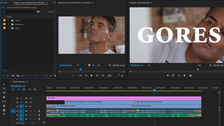Learn How to Use Adobe Premiere Pro in 15 Minutes