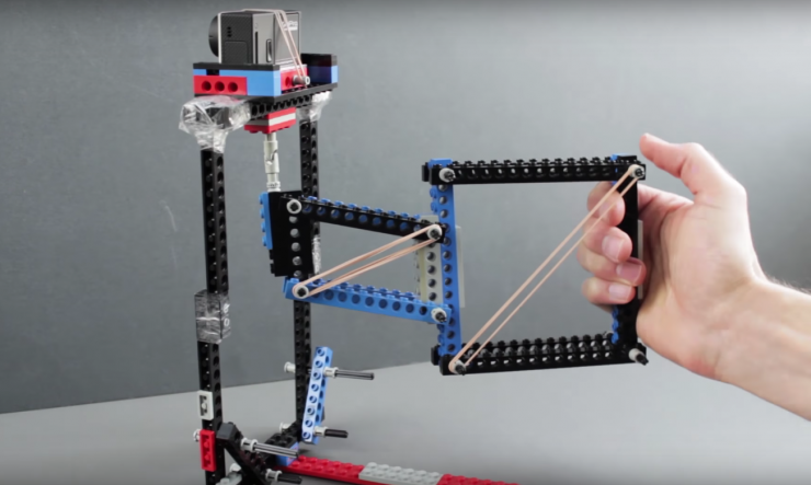 Want To Build A Camera Stabilizer Out Of Legos Of Course